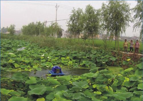 江苏兴化某农村水处理工程竣工