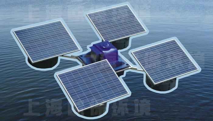 solaraer太阳能解层式曝气机 2.