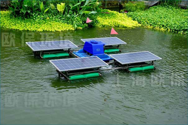 AER河道湖泊太阳能解层式曝气机
