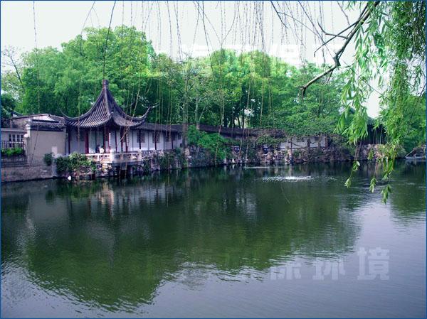 苏州园林人工湖水处理-沧浪亭