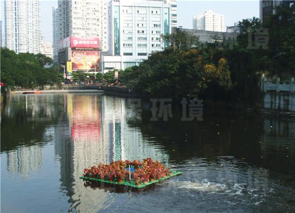 造流曝气机,生态浮岛,河道曝气,河道治理