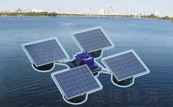 解层式太阳能曝气机,适用于河道,湖泊,水库,人工湖等供电条件不足的