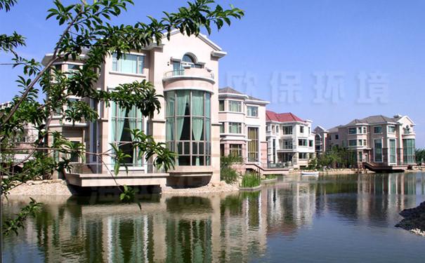 工程别墅:上海世茂名称项目人工湖治理湖滨出售成都花园紫云图片
