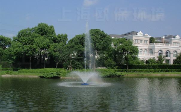 浮水喷泉式曝气机