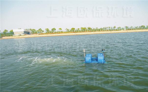 强力造流曝气机用于湖泊底泥修复及水体治理项目