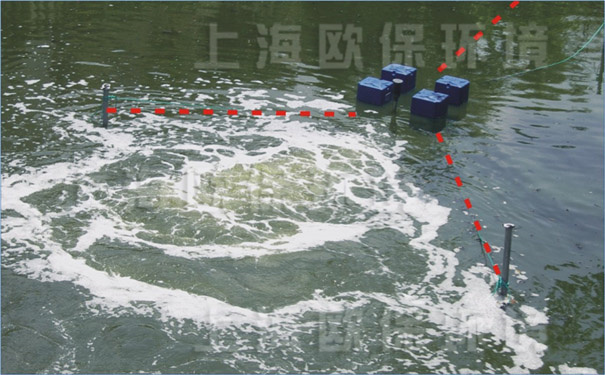 漂浮式强力造流曝气机