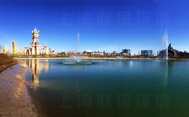 景观湖治理 浮水喷泉-舞动的精灵