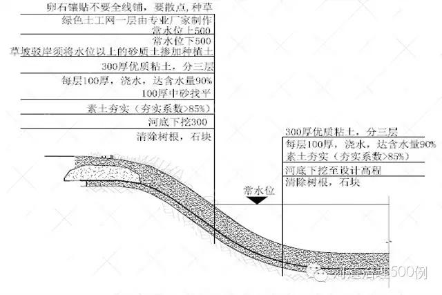 生态护岸设计图1