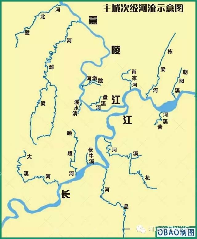 海南省河流地图