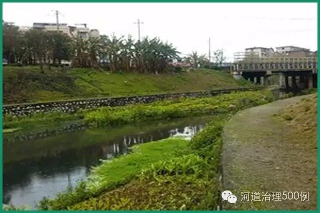 河道护坡景观效果图