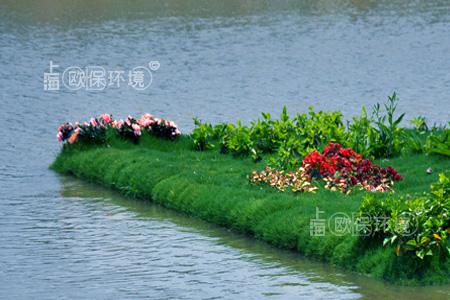复合纤维浮动湿地选型设计