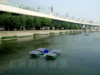 天津护仓河道治理设备供应-太阳能曝气机