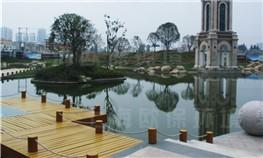 淮南金地国际城人工湖水处理
