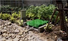 上海绿地东岸莲城人工湖水处理