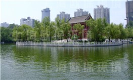 西安兴庆宫公园人工湖治理
