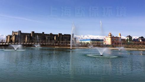 【甘肃】浮水喷泉—嘉峪关方特欢乐世界的舞动精灵